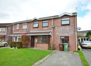 Thumbnail 4 bed semi-detached house for sale in Heol Tasker, Nelson, Treharris, Caerphilly