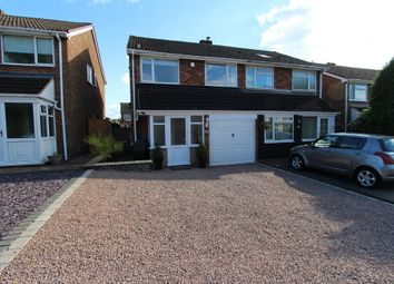 Thumbnail 3 bed semi-detached house for sale in Glascote Road, Tamworth