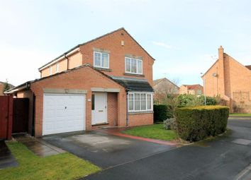 Thumbnail 4 bed detached house for sale in Minchin Close, York