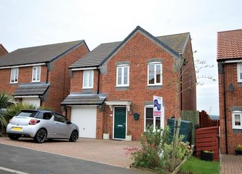 Thumbnail 4 bed detached house for sale in Edgehill Gardens, Brotton, Saltburn-By-The-Sea