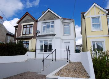 Thumbnail 3 bed semi-detached house to rent in Trelawney Road, St Austell