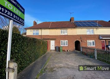 Thumbnail 2 bedroom terraced house to rent in Norman Road, Peterborough, Cambridgeshire.