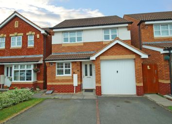 Thumbnail 3 bedroom detached house for sale in Jackfield Close, Redditch