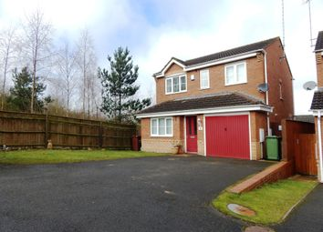 Thumbnail 3 bed detached house for sale in Wells Close, Rugeley