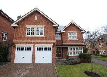 Thumbnail 5 bed detached house to rent in Woodham Gate, Woking