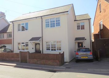 3 bed end terrace house for sale in Withycombe Village Road, Exmouth, Devon EX8