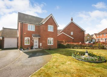 Thumbnail 4 bed detached house for sale in Kinson Way Whitfield, Dover, Kent United Kingdom