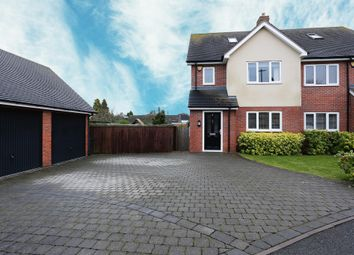 Thumbnail 4 bedroom semi-detached house for sale in Wheatmore Grove, Sutton Coldfield