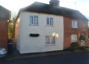 Thumbnail 2 bed semi-detached house for sale in Station Road, Woolhampton, Reading