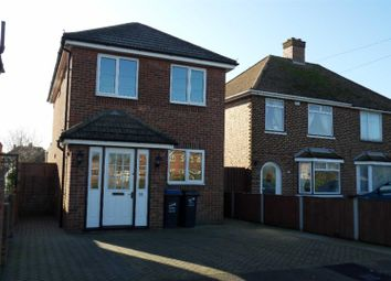 Thumbnail 3 bed detached house for sale in Manston Road, Ramsgate