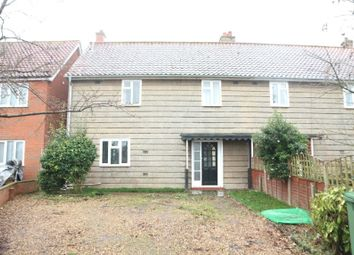 Thumbnail 3 bedroom semi-detached house for sale in 6 Rosebery Road, Great Plumstead, Norwich, Norfolk