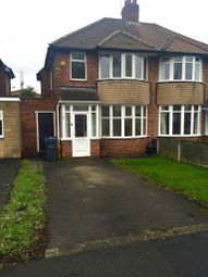 Thumbnail 3 bed semi-detached house to rent in George Rd, Sutton Coldfield