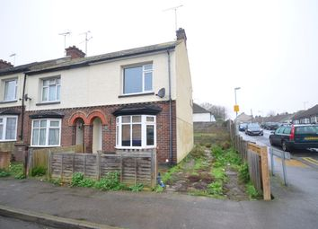 Thumbnail 2 bed end terrace house to rent in Corporation Road, Gillingham