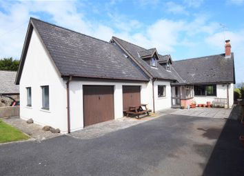Thumbnail 4 bed detached bungalow for sale in New Road, Goodwick