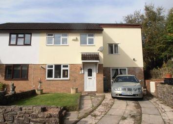 Thumbnail 4 bed semi-detached house for sale in Llys Cynon, Hirwaun, Aberdare