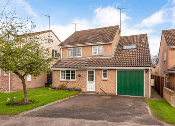 Thumbnail 4 bed detached house for sale in Chaffinch Close, Wokingham