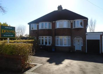 Thumbnail 3 bed semi-detached house for sale in Court Oak Road, Birmingham, West Midlands