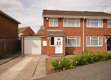 Thumbnail 3 bed semi-detached house for sale in Ramworth Way, Aylesbury