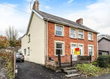 Thumbnail 3 bed semi-detached house for sale in Crossgates, Llandrindod Wells