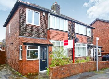 Thumbnail 3 bed semi-detached house for sale in Aber Avenue, Great Moor, Stockport, Cheshire