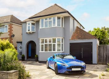 Thumbnail 3 bed detached house for sale in Holmwood Road, Cheam, Sutton