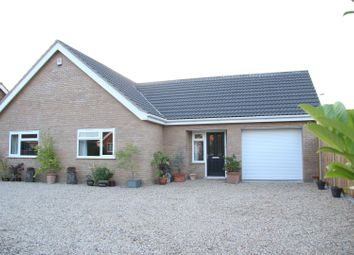 Thumbnail 6 bed detached bungalow for sale in Poringland, Norwich