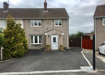 Thumbnail 3 bed semi-detached house for sale in Lewin Grove, Castleford