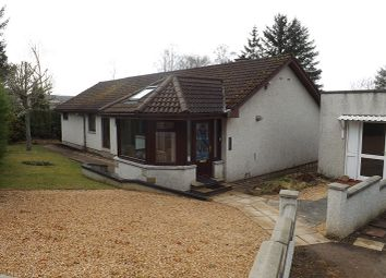 Thumbnail 3 bed detached bungalow for sale in Strathy, Ardross, Alness