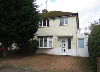 Thumbnail 3 bed semi-detached house for sale in Peters Avenue, London Colney, St. Albans