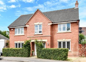 Thumbnail 4 bedroom detached house for sale in Purslane Drive, Bure Park, Bicester
