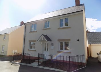 Thumbnail 3 bed detached house for sale in Lon Y Gog, Coity, Bridgend.