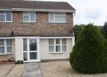 Thumbnail 2 bed end terrace house to rent in Brookfield Walk, Clevedon