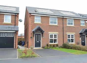 Thumbnail 3 bedroom semi-detached house for sale in Wilkinson Park Drive, Leigh