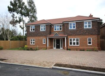Thumbnail 4 bedroom detached house for sale in Knoll Gardens, Rear Of 82 Wheathampstead Road, Harpenden, Hertfordshire