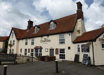 Thumbnail Pub/bar for sale in The Crown Inn, The Street, Haddiscoe, Norwich