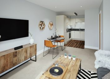 Thumbnail 2 bedroom flat for sale in John Thornycroft Road, Southampton