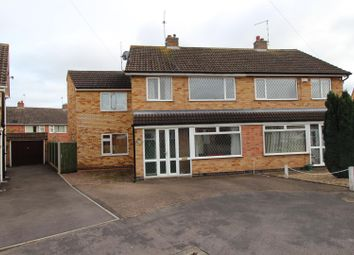 Thumbnail 4 bed semi-detached house to rent in Willow Close, Littlethorpe, Leicester