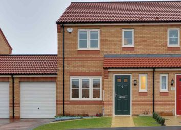 Thumbnail 3 bed semi-detached house for sale in Stamford Close, Sleaford