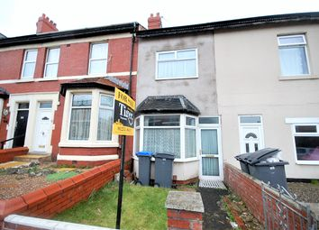 Thumbnail 2 bedroom terraced house for sale in Sherbourne Road, Blackpool, Lancashire