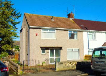 Thumbnail 3 bed semi-detached house for sale in Castle Avenue, Penarth