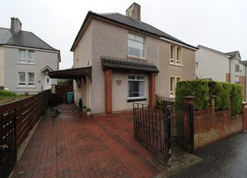 Thumbnail 2 bed semi-detached house for sale in Mcgregor Avenue, Airdrie, North Lanarkshire