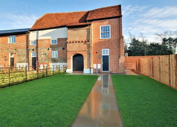 Thumbnail 2 bed end terrace house for sale in The Whittles, Mill End, Thaxted