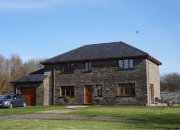 Thumbnail 4 bed detached house for sale in Maes Marchog Isaf, Neath
