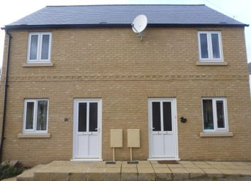 Thumbnail 2 bed semi-detached house to rent in Sayer Street, Huntingdon
