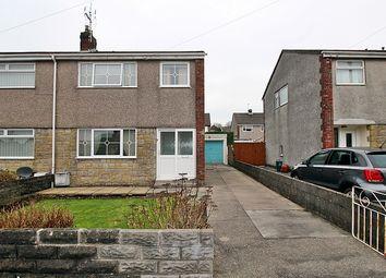 Thumbnail 3 bed semi-detached house for sale in Hillside Court, Llantwit Fardre, Pontypridd, Rhondda, Cynon, Taff.