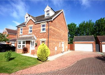 Thumbnail 5 bed detached house for sale in Buck Close, Lincoln