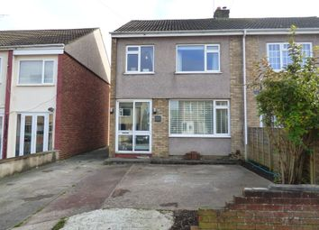 Thumbnail 3 bed semi-detached house for sale in Meadow View, Frampton Cotterell, Bristol