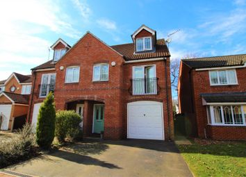 Thumbnail 4 bedroom semi-detached house for sale in Grandfield Way, North Hykeham, Lincoln