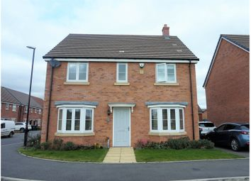 Thumbnail 4 bed detached house for sale in Auburndale Avenue, Coventry