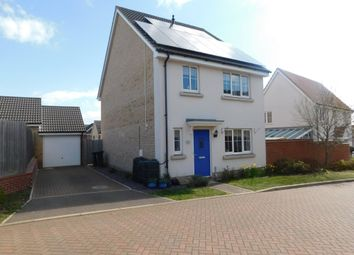 Thumbnail 4 bed detached house for sale in Crossbill Road, Stowmarket